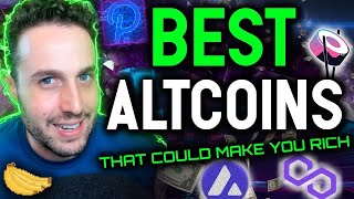The 10 BEST Altcoins that could make you RICH