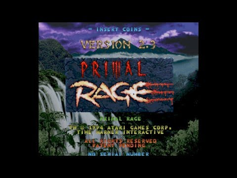(Arcade PCB) Primal Rage - Completed w/No Rounds Lost, 1CC 1080p60