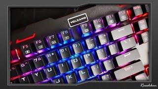 Modecom Volcano Hammer RGB - Niedroga klawiatura mechaniczna z RGB