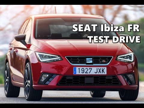 seat ibiza fr 2017 overview test drive youtube. Black Bedroom Furniture Sets. Home Design Ideas