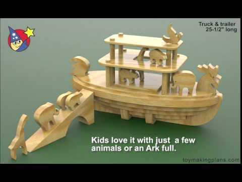 wood-toy-plans---noahs-animal-cracker-ark