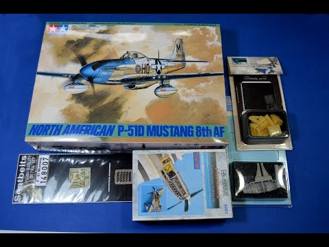 P-51D Mustang 1/48 - Episode One - A lot of resin and a little bit of plastic