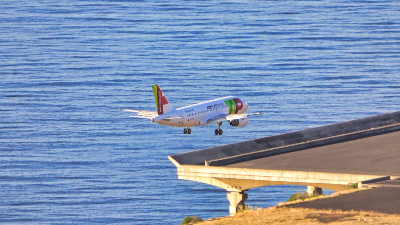8 MADEIRA AIRPORT LANDINGS IN A BEAUTIFUL DAY 14.09.2020