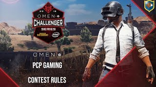 HP Omen and PCP Gaming PUBG Contest Rules