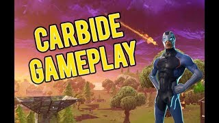 Fortnite Battle Royale NEW Carbide Skin Gameplay!