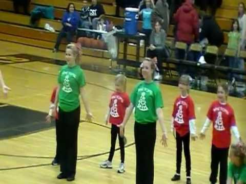 Bay City Western High School Varsty Pom Pon - Little Girls Clinic 2010