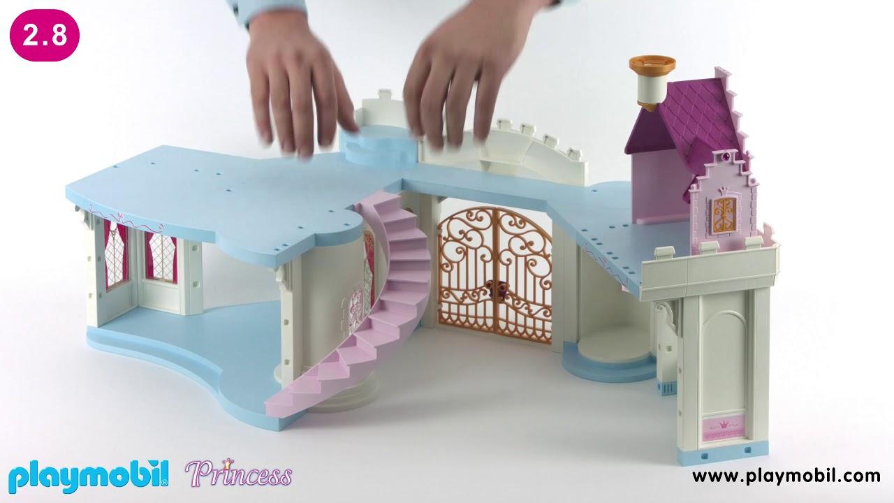 PLAYMOBIL Instruction - Grand Princess Castle (6848)