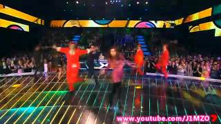 The X Factor Australia 2012 - Top 9 - Jessica Mauboy (Medley Hits From The Sapphire)