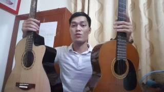CHỌN MUA đàn Guitar Acoustic hay Classic??