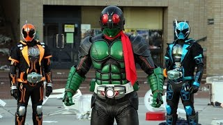 2016年3月26日ロードショー Japanese movie Kamen Rider 1 Go trailer. ...