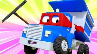 The dumper truck - Carl the Super Truck - Car City ! Cars and Trucks Cartoon for kids