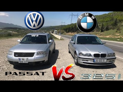 BMW 325i E46 MT Vs Volkswagen Passat W8 AT5 4Motion (Emzo Legend)