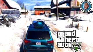 GTA 5 MOD VITA REALE: Casa sulla neve, motoslitte... e paura!