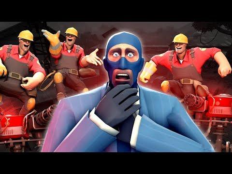 Ficou DIFÍCIL Jogar Como SPY No Team Fortress 2!!