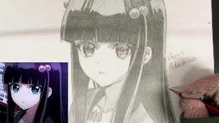 Pencil drawing of Benio Adashino from Twin Star Exorcists / Request Music: Mintios Piano https://www.youtube.com/watch?v=_OWqUW_Ztow.