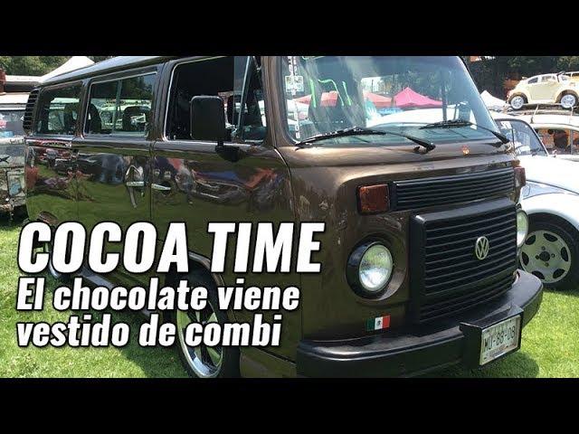 Cocoa Time: El chocolate viene vestido de combi