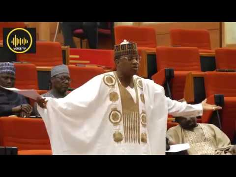 Download SARAKI SHUT MARAFA UP, THREATEN TO RESIGN AS SENATOR.