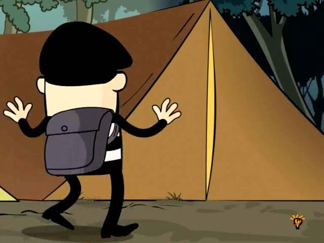 Crime Time: The Hiker | Cartoon Mondays