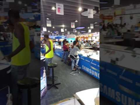 Mobile mall in Malaysia
