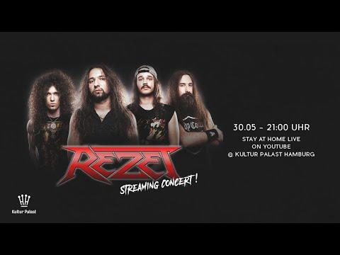 "Rezet – streamed live show straight out of ""Kronensaal"" (Kulturpalast, Hamburg / Germany)"