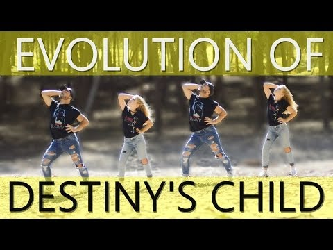 Evolution Of Destiny's Child 'OFFICIAL DANCE' | XtianKnowles