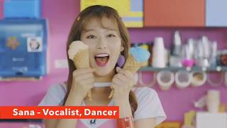 GET TO KNOW: TWICE (Members, voices, looks, positions) LIKEY 2017