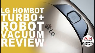 LG HomBot Turbo+ Review (CR5765GD) Robot Vacuum and Smart Home Guard