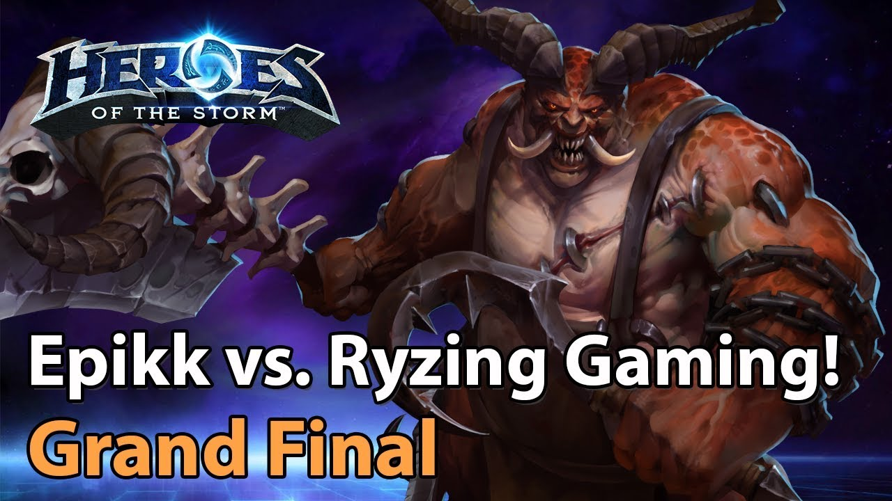 ► Heroes of the Storm: Epikk vs. Ryzing Gaming - Grand Final - Division 1 Cup