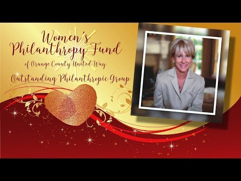 2017 National Philanthropy Day Outstanding Philanthropic Group, Women's Philanthropy Fund