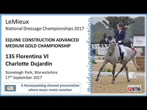 LeMieux National Dressage Championships: Charlotte Dujardin Florentina VI