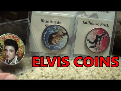 ELVIS PRESLEY HALF DOLLAR COINS In The Mail Today! Collectible Coins