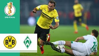 Borussia Dortmund vs. Werder Bremen 5-7 Pen | Highlights | DFB Cup 2018/19 | Round of 16