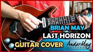 Last Horizon - Brian May - Guitar Cover  by Daniel Marcos - AnderMay Guitars