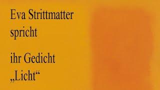 """Eva Strittmatter – """"Licht"""""""