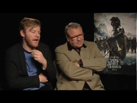 Brian Gleeson And Ray Winstone Interview -- Snow White And The Huntsman | Empire Magazine