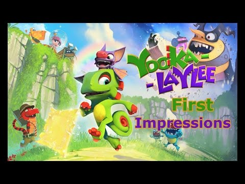 "Yooka Laylee First Impressions ""This Game?!?!"" 