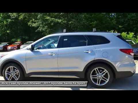 Superior 2017 Hyundai Santa Fe RHU219057. Rick Case Hyundai Roswell