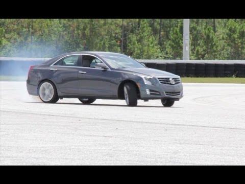 Andy Pilgrim Cadillac Ats Drifting Youtube