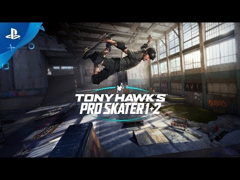 Tony Hawk's Pro Skater 1 + 2 Remastered PS4