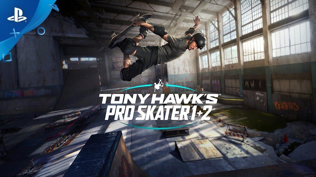 Tony Hawk Pro Skater 1+2 – Trailer de anunț