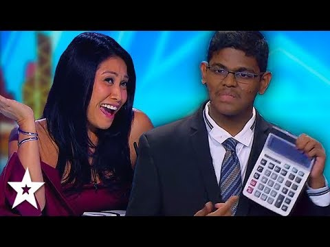Unbelievably FAST Mathematician On Asia&39;s Got Talent 2019  Got Talent Global