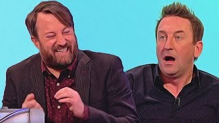 Did Lee Mack pretend to have fallen off a ladder to avoid going to Ikea?-Would I Lie to You?[HD][CC]