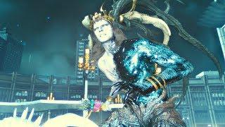 FINAL FANTASY XV - New Ifrit Boss Fight & New Shiva Dialogue | Update 1.21 (PS4 Pro)