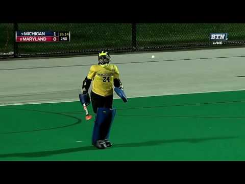 Grace Balsdon Equalizes for Maryland 1-1 vs. Michigan