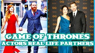 GAME OF THRONES Real life partners