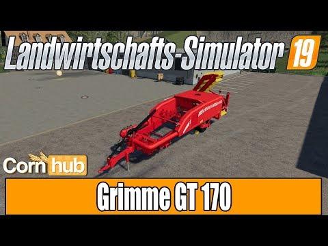 LS19 Modvorstellung - Grimme GT 170 - LS19 Mods