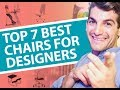 Top 7 Best Office Chairs for Graphic Designers