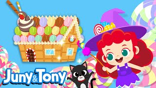 Witch's Cookie House | Biscuit, Chocolate, Macaron and Ice Cream! | Juny&Tony by KizCastle