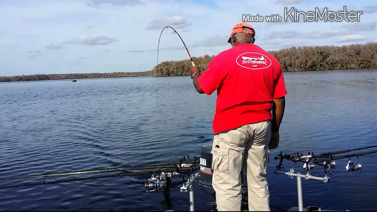 Crescent lake florida january 29th 2015 youtube for Crescent lake fishing