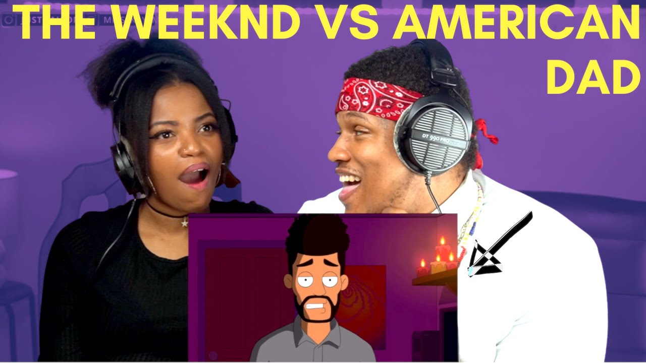 Couple Reacts To American Dad — The Weeknd's Dark Secret| #ICONANDKAY